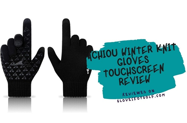 Achiou Winter Knit Gloves Touchscreen Review