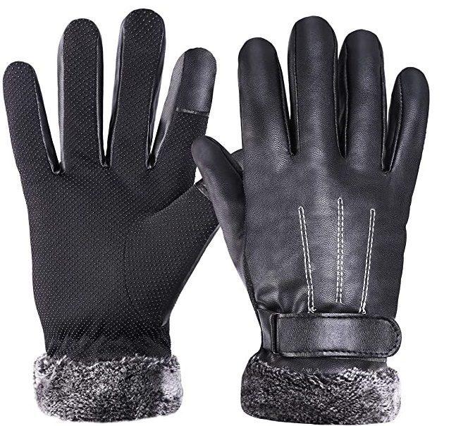 Luxury Men's Touchscreen Gloves