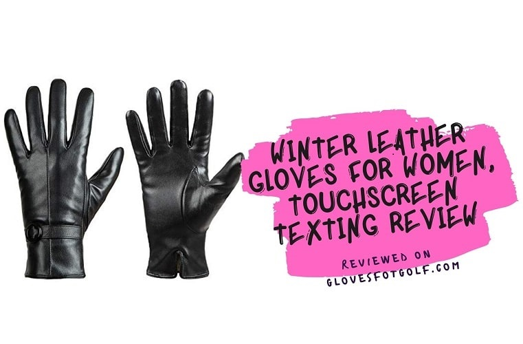 Winter Leather Gloves for Women, Touchscreen Texting Review